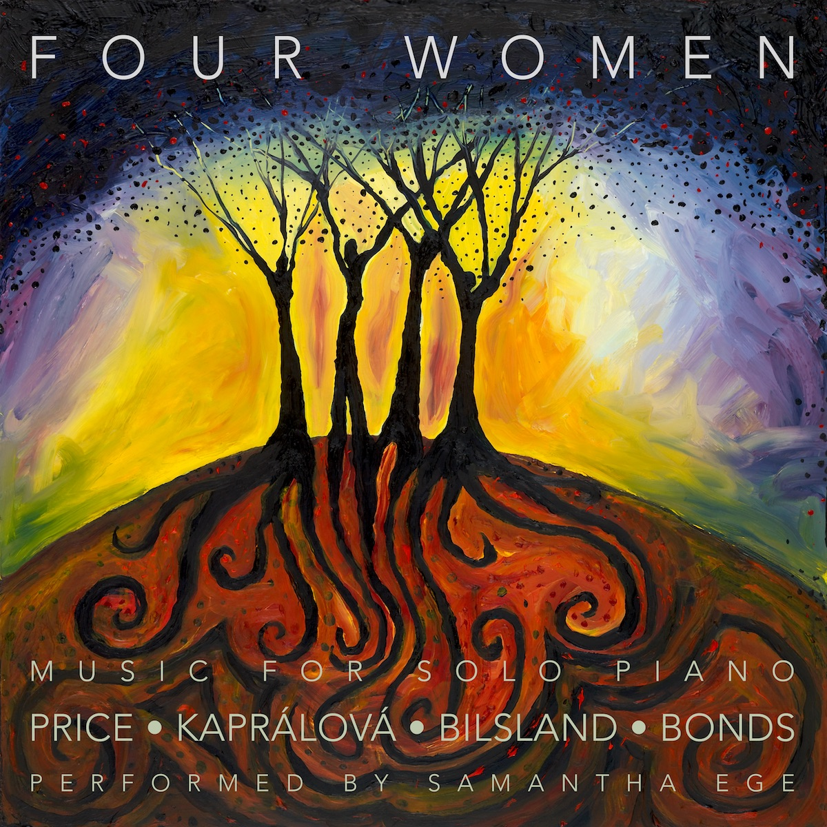 Four Women: Music for solo piano by Price, Kapralova, Bilsland and Bonds